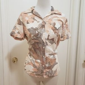 3for$20 button down shirr short sleeve